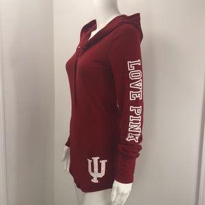 Victoria's Secret IU collegiate red shirt SMALL